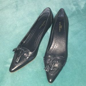 Shoes - Navy Brooks Brothers High Heels